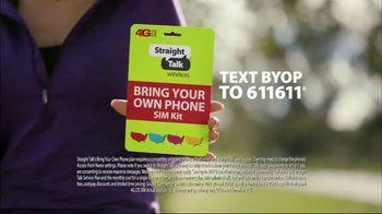 Straight Talk Wireless Bring Your Own Phone SIM Kit TV Spot, 'Special Talk' - Thumbnail 8