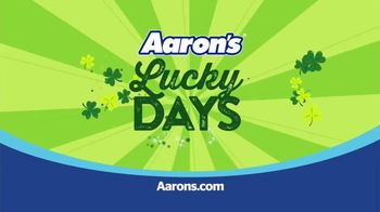 Aaron's Lucky Days TV Spot, 'A New Agreement' - Thumbnail 9