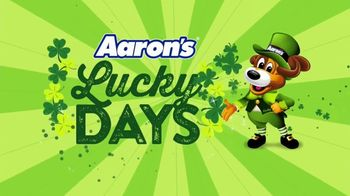 Aaron's Lucky Days TV Spot, 'A New Agreement' - Thumbnail 2