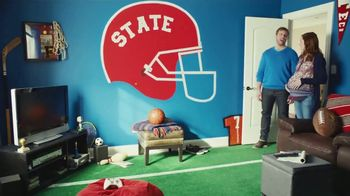 Dutch Boy Platinum Plus Paint + Primer TV Spot, 'From Man Cave to Nursery'