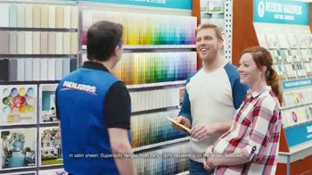 Dutch Boy Platinum Plus Paint + Primer TV Spot, 'From Man Cave to Nursery' - Thumbnail 7