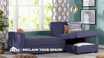 Wayfair TV Spot, 'HGTV: Reclaim Your Space'