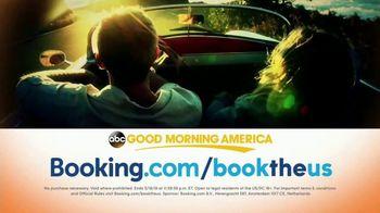 Booking.com TV Spot, 'Good Morning America: Book the U.S.' - Thumbnail 10