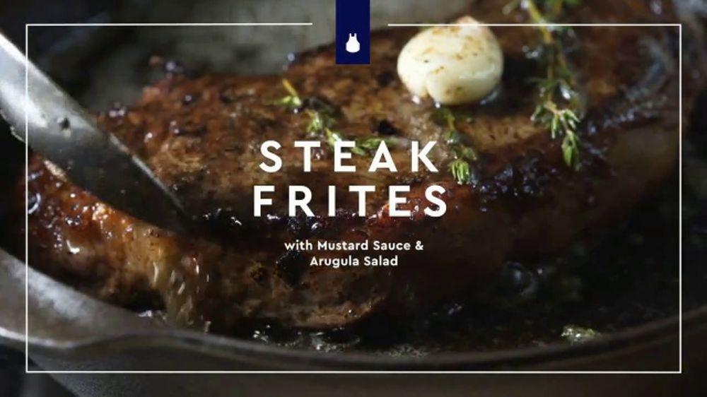 Blue Apron TV Commercial, 'Steak Frites'