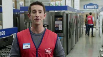 Lowe's TV Spot, 'The Moment: Not Enough Fridge: Select Appliances' - Thumbnail 4