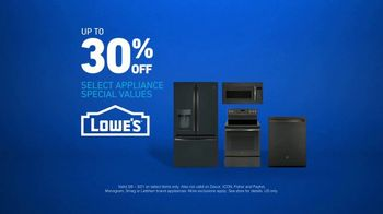 Lowe's TV Spot, 'The Moment: Not Enough Fridge: Select Appliances' - Thumbnail 6