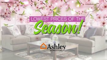 Ashley HomeStore Lowest Prices of the Season! TV Spot, 'Cherry Blossoms' - Thumbnail 1