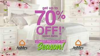 Ashley HomeStore Lowest Prices of the Season! TV Spot, 'Cherry Blossoms'