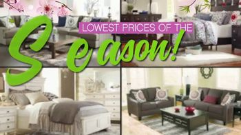 Ashley HomeStore Lowest Prices of the Season! TV Spot, 'Cherry Blossoms' - Thumbnail 5