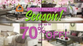 Ashley HomeStore Lowest Prices of the Season! TV Spot, 'Cherry Blossoms' - Thumbnail 6