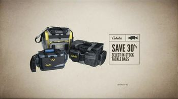 Cabela's Great Outdoor Days Sale TV Spot, 'Hoodies, Footwear & Tackle Bags' - Thumbnail 9