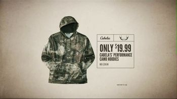 Cabela's Great Outdoor Days Sale TV Spot, 'Hoodies, Footwear & Tackle Bags'