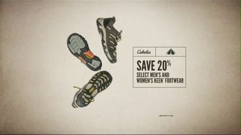 Cabela's Great Outdoor Days Sale TV Spot, 'Hoodies, Footwear & Tackle Bags' - Thumbnail 7
