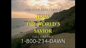 Dawn Bible Students Association TV Spot, 'Jesus the World's Savior' - Thumbnail 7