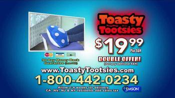 Toasty Tootsies TV Spot, 'Keep Your Tootsies Warm for Hours' - Thumbnail 8