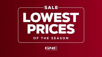 GNC Lowest Prices of the Season TV Spot, 'Save on Hundreds of Items'