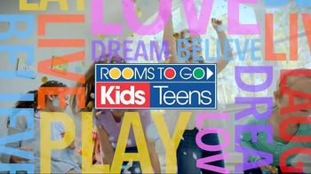 Rooms to Go Anniversary Sale TV Spot, 'Save Big: Kids and Teens' - Thumbnail 9
