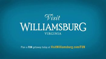 Visit Williamsburg TV Spot, 'Family Funologist: Staycation' - Thumbnail 10