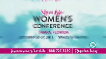 Joyce Meyer Ministries 2018 Love Life Women's Conference TV Spot, 'Join Us' - Thumbnail 9