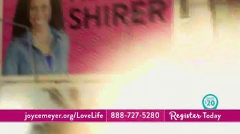 Joyce Meyer Ministries 2018 Love Life Women's Conference TV Spot, 'Join Us' - Thumbnail 4