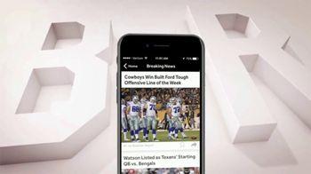 Bleacher Report Team Stream App TV Spot, 'Offensive Line of the Week' - Thumbnail 6
