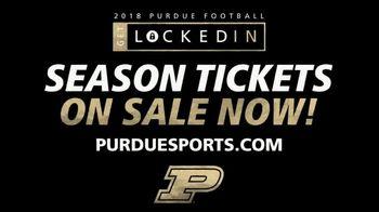 Purdue Football Season Tickets TV Spot, 'Locked In' - Thumbnail 10