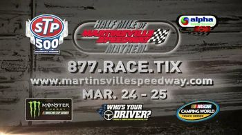 Martinsville Speedway TV Spot, '2018 STP 500: If These Walls Could Talk' - Thumbnail 9