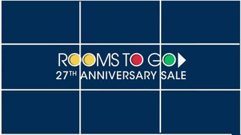 Rooms to Go 27th Anniversary Sale TV Spot, 'Adjustable Base' - Thumbnail 1
