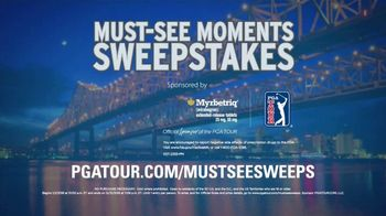 PGA TOUR Must-See Moments Sweepstakes TV Spot, 'New Orleans: VIP' - Thumbnail 10
