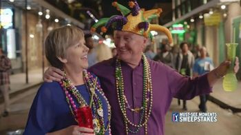 PGA TOUR Must-See Moments Sweepstakes TV Spot, 'New Orleans: VIP' - Thumbnail 8