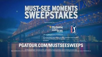 PGA TOUR Must-See Moments Sweepstakes TV Spot, 'New Orleans: VIP' - Thumbnail 9
