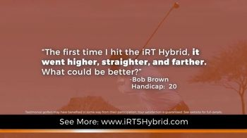 iRT-5 Hybrid TV Spot, 'Actual Reviews' Featuring Aaron Oberholser