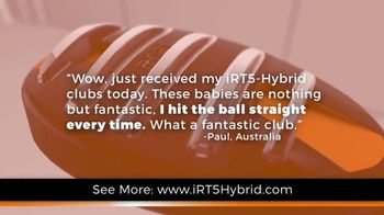 iRT-5 Hybrid TV Spot, 'Actual Reviews' Featuring Aaron Oberholser - Thumbnail 3