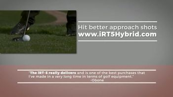 iRT-5 Hybrid TV Spot, 'Actual Reviews' Featuring Aaron Oberholser - Thumbnail 9