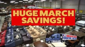 American Freight Huge March Savings TV Spot, 'Don't Wait'