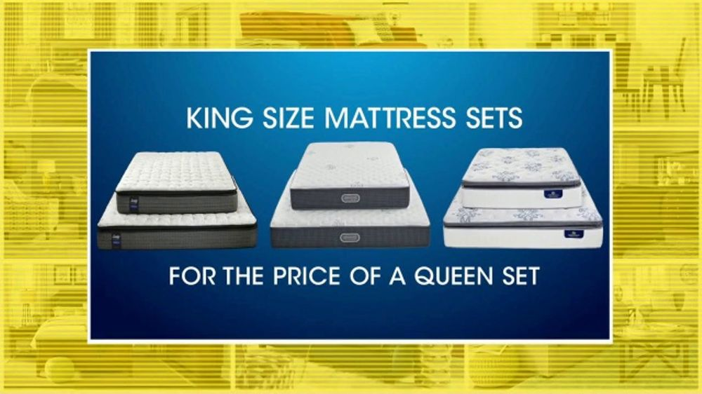 Rooms to Go 27th Anniversary Sale TV Commercial, 'King Size