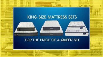 Rooms to Go 27th Anniversary Sale TV Spot, 'King Size Mattress Sets'