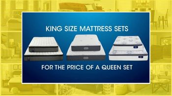 Rooms to Go 27th Anniversary Sale TV Spot, 'King Size Mattress Sets' - Thumbnail 2
