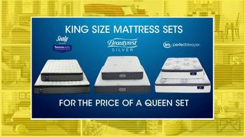 Rooms to Go 27th Anniversary Sale TV Spot, 'King Size Mattress Sets' - Thumbnail 4