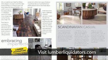 Lumber Liquidators TV Spot, 'Fresh Perspective on Style' - Thumbnail 5