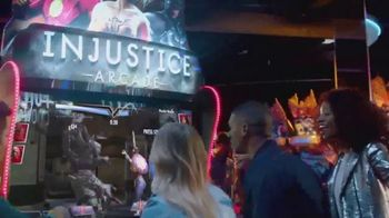 Dave and Buster's Injustice Arcade TV Spot, 'Justice League'