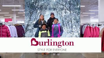 Burlington TV Spot, 'Cold Weather Is No Match for the Davis Family'