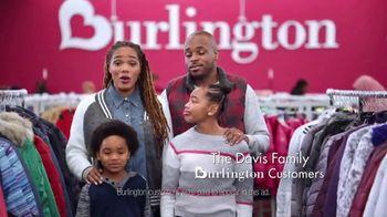 Burlington TV Spot, 'Cold Weather Is No Match for the Davis Family' - Thumbnail 2