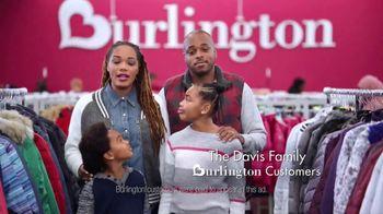Burlington TV Spot, 'Cold Weather Is No Match for the Davis Family' - Thumbnail 3