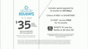XFINITY TV & Internet TV Spot, 'Ready for Holidays' Song by Vampire Weekend - Thumbnail 8