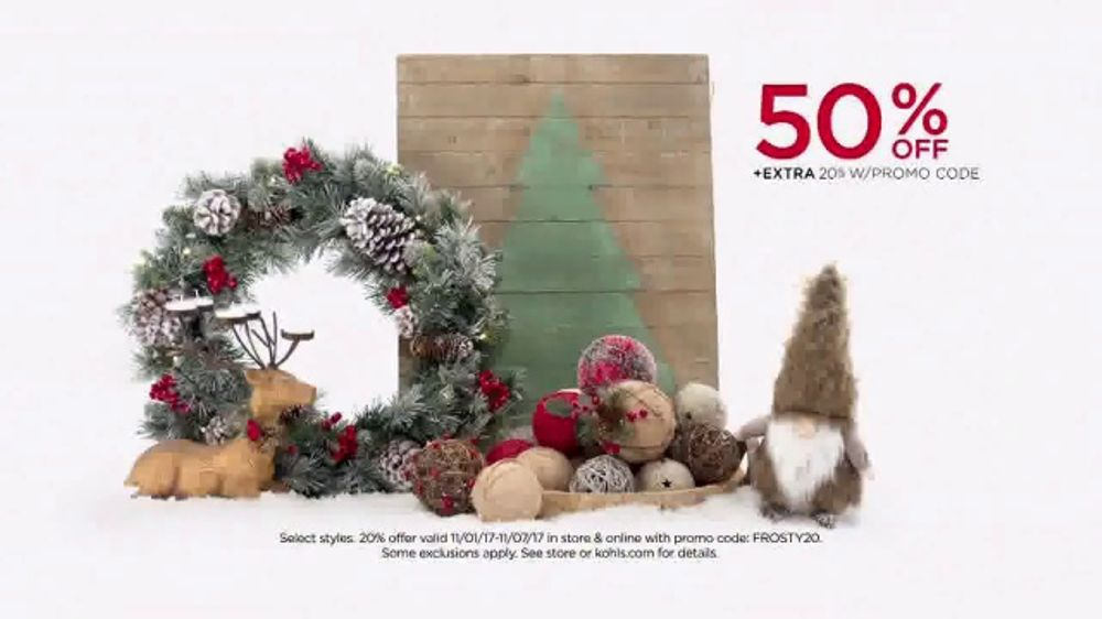kohls tv commercial cozy up clothing and home decor ispottv