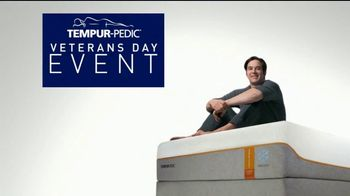 Tempur-Pedic Veterans Day Event TV Spot, 'Sleep Hard' Featuring Andy Stumpf - Thumbnail 6