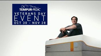 Tempur-Pedic Veterans Day Event TV Spot, 'Sleep Hard' Featuring Andy Stumpf - Thumbnail 7