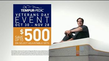 Tempur-Pedic Veterans Day Event TV Spot, 'Sleep Hard' Featuring Andy Stumpf - Thumbnail 8