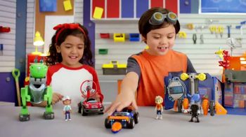 Rusty Rivets Build Sets TV Spot, 'Build to Save the Day' - 372 commercial airings
